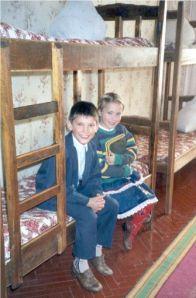 Orfanato Bucha en Ucrania
